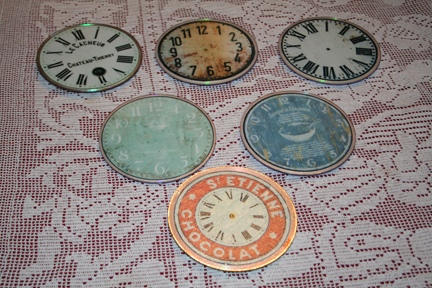 CD Clock Coasters